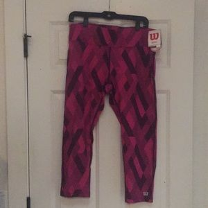 Wilson Leggings For All Athleisure Activities! NWT